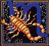 """Вышивка крестом """"Знаки зодиака. Скорпион"""""""