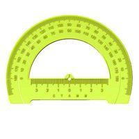 Транспортир (12 см; 180 градусов; в ассортименте)