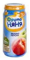 """Детское пюре ФрутоНяня """"Из яблок и персиков"""" (250 г)"""