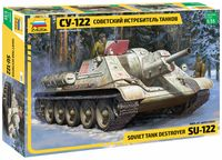 """Сборная модель """"Советский истребитель танков СУ-122"""" (масштаб: 1/35)"""