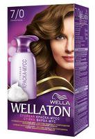 """Краска-мусс для волос """"Wellaton"""" (тон: 7/0, осенняя листва)"""