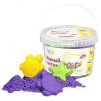 """Набор для лепки из песка """"Умный песок фиолетовый"""" (2 кг)"""