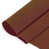 Бумага гофрированная (50х200 см; коричневая; арт. DV-2926)
