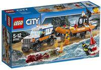 """LEGO City """"Внедорожник 4х4 команды быстрого реагирования"""""""