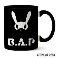 """Кружка """"B.A.P."""" (черная; арт. 2684)"""