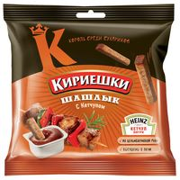 """Сухарики ржаные """"Кириешки"""" (60 г; томатный соус и шашлык)"""