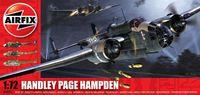 """Бомбардировщик """"Handley Page Hampden"""" (масштаб: 1/72)"""