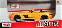 "Модель машины ""Mercedes Benz SLS AMG Roadster"" (масштаб: 1/24)"