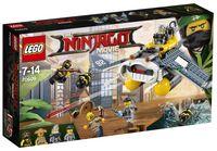 "LEGO The Ninjago Movie ""Бомбардировщик Морской дьявол"""