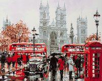 "Картина по номерам ""Будни Лондона"" (400х500 мм)"