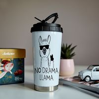 "Термокружка ""No drama llama"""