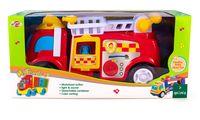 """Машинка """"Пожарная служба"""" (со световыми и звуковыми эффектами)"""