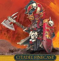 "Миниатюра ""Warhammer FB. Finecast: Chaos Khorne Exalted Hero"" (83-63)"