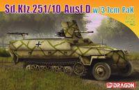 "Немецкий бронетранспортер ""Sd.Kfz.251/10 Ausf.D w/3.7cm"" (масштаб: 1/72)"