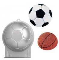 """Форма для выпекания металлическая """"Футбольный мяч"""" (22 см; арт. WLT-2105-2044)"""