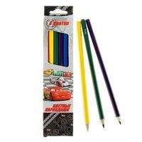 """Цветные карандаши """"Disney. Тачки"""" (6 цветов)"""