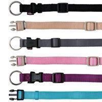 """Ошейник нейлоновый для собак """"Premium Collar"""" (размер L-XL, 40-65 см, бежевый)"""