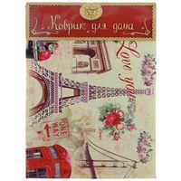 "Коврик для входной двери ""Эйфелева башня"" (60х45 см, арт. 37365)"