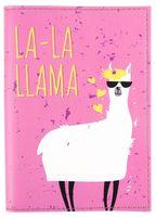 "Обложка на паспорт ""Лама"""