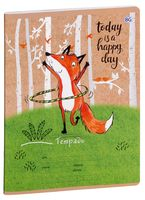 """Тетрадь в линейку """"Funny Fox"""" (24 листа; в ассортименте)"""
