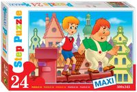 "Пазл maxi ""Малыш и Карлсон. Опасная прогулка"" (24 элемента)"