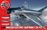 """Истребитель-перехватчик """"English Electric Lightning F.2A/F.6"""" (масштаб: 1/48)"""