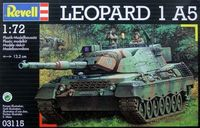 "Танк ""Leopard 1 A5"" (масштаб: 1/72)"