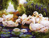 """Картина по номерам """"Весна"""" (400x500 мм; арт. MG165)"""