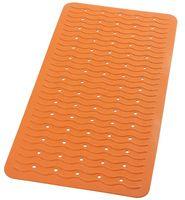 """Коврик для ванной резиновый """"Волна"""" (38х80 см; оранжевый)"""