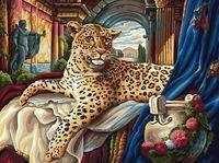 "Картина по номерам ""Римский леопард"" (300х400 мм)"