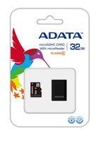 Карта памяти micro SDHC 32Gb A-Data Class 4 (+ micro USB reader V3 black)