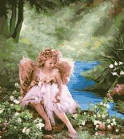"Картина по номерам ""Ангел"" (500x650 мм; арт. MMC070)"