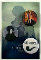 """Набор значков маленьких """"Шерлок"""" (арт. 352)"""