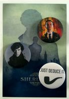 "Набор значков ""Шерлок"" (352)"