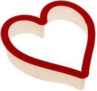 "Форма для вырезания теста пластмассовая ""Сердце"" (110х90х25 мм)"