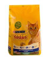 Корм сухой для стерилизованных кошек (1,5 кг; кролик и овощи)