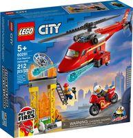 """LEGO City """"Спасательный пожарный вертолёт"""""""