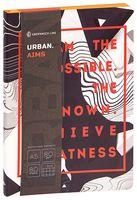 """Записная книжка в клетку """"Urban. Aims"""" (A5)"""