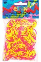 """Набор резиночек для плетения """"Rainbow Loom. Неоновые розово-желтые"""""""