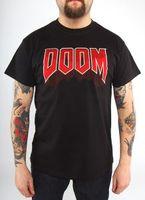 """Футболка """"Doom - Classic Logo""""  (размер - S)"""
