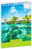 "Блокнот на спирали в клетку ""Tropical Island"" (А6; 40 листов; в ассортименте)"