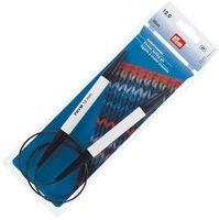 Спицы круговые для вязания (пластик; 12 мм; 80 см)