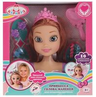 """Кукла-манекен для моделирования причесок """"Принцесса"""""""