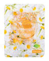 """Тканевая маска для лица """"Herbs Fit. С экстрактом ромашки и текстурным напылением розового золота"""" (25 мл)"""