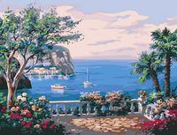 """Картина по номерам """"Вид на море"""" (300х400 мм)"""