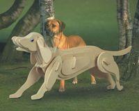 """Сборная деревянная модель """"Собака"""""""
