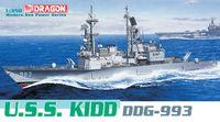 "Эскадренный миноносец ""U.S.S. Kidd DDG-993"" (масштаб: 1/350)"