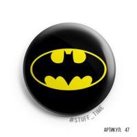 """Значок маленький """"Бэтмен"""" (арт. 047)"""
