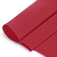 Бумага гофрированная (50х200 см; темно-красная; арт. DV-2926)