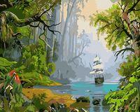 "Картина по номерам ""Необитаемый остров"" (400х500 мм)"